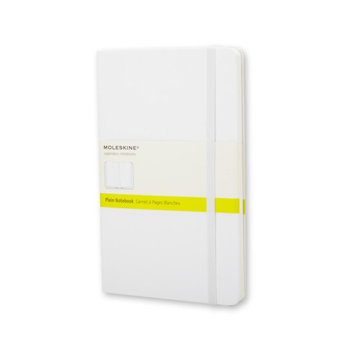 Moleskine - White Notebook Pocket Blank