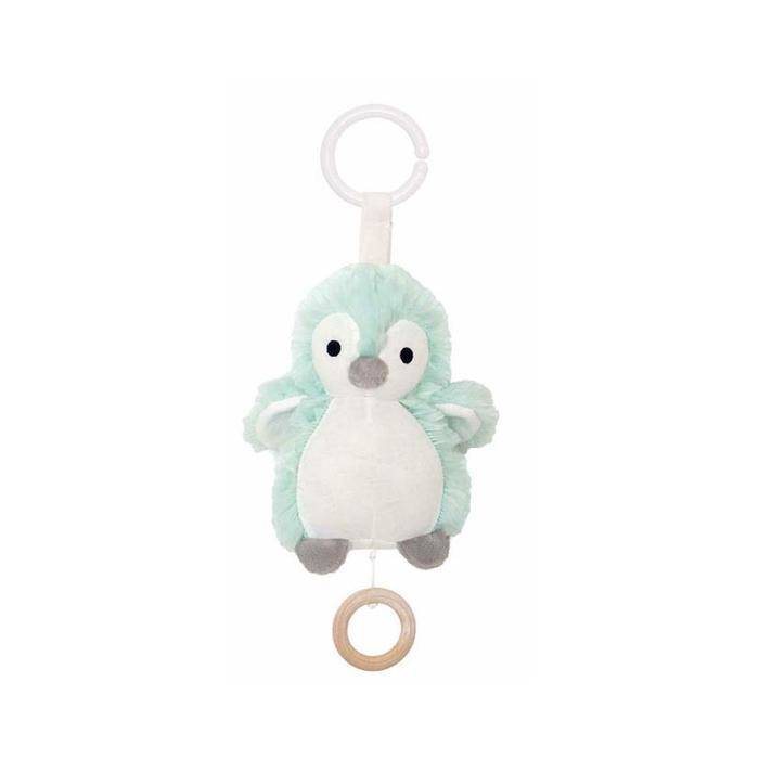 Jabadabado - Plüsch-Spieluhr Pinguin Türkis