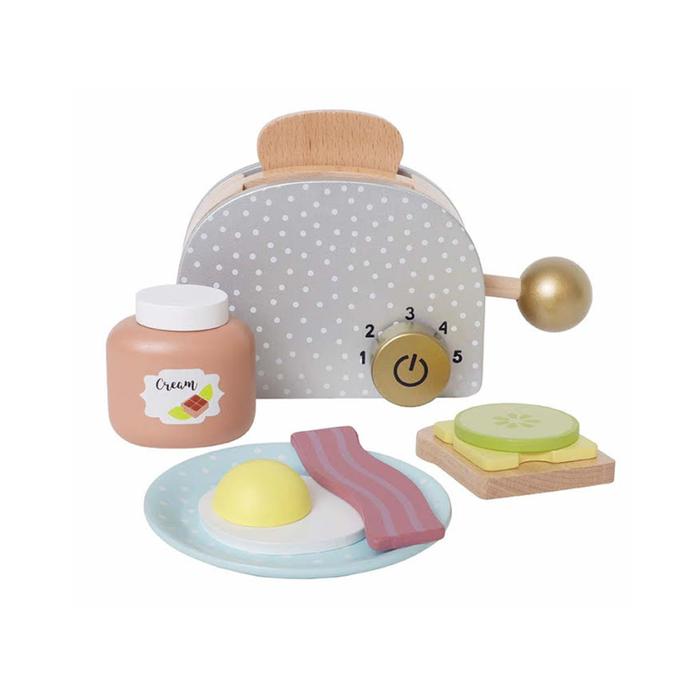 Jabadabado - Frühstück-Set Toaster 9-teilig