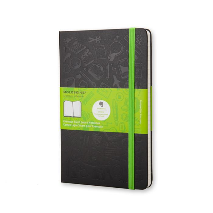 Moleskine - Evernote Notebook Large Liniert
