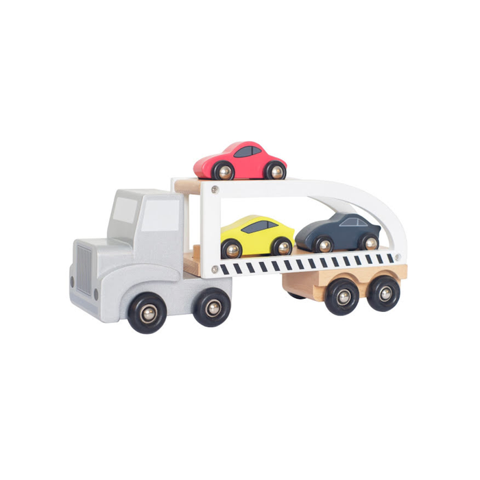 Jabadabado - Sportauto-Transporter 5-teilig