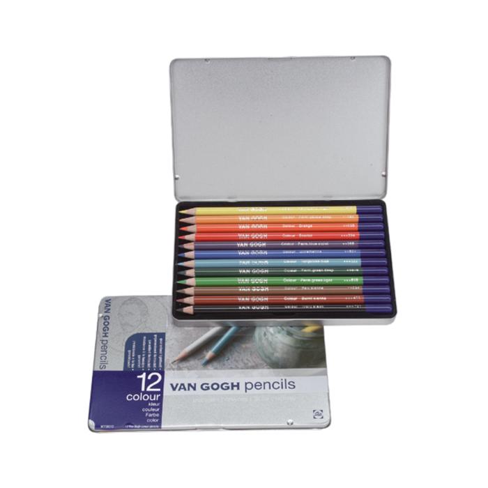 Van Gogh - Farbstifte Starter 12 Set