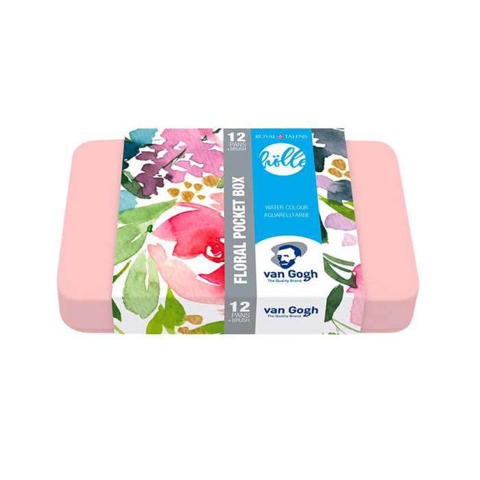 Van Gogh - Aquarell Pocket Box Frau Hölle Edition Floral