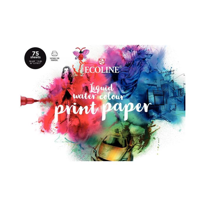 Talens - Ecoline Water Colour Print Paper