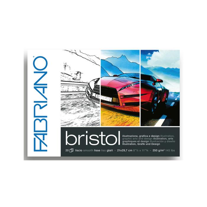 Fabriano - Zeichenblock Bristol A4