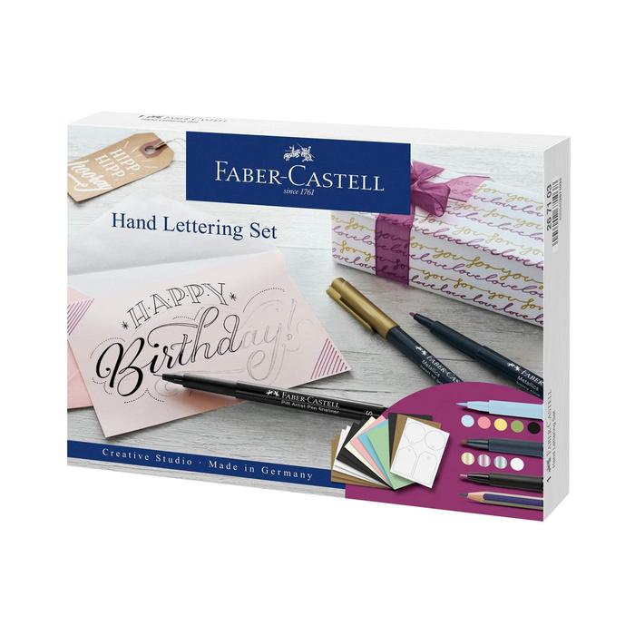 Faber Castell - Handlettering Geschenkset 12-teilig