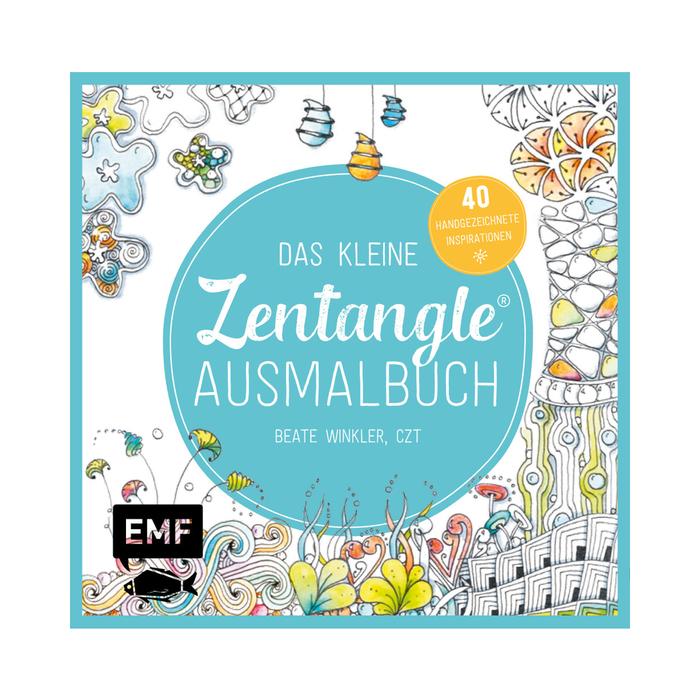MeinStift - Das kleine Zentangle Ausmalbuch - quadratisch